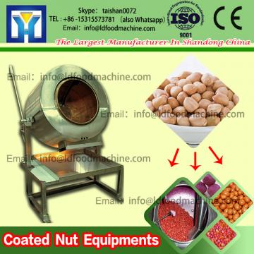 Highly Flexible Stainless  Coated machinery Peanut Coating And Roasting machinery