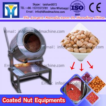 Preformed granulated snacks peanuts coated make machinery