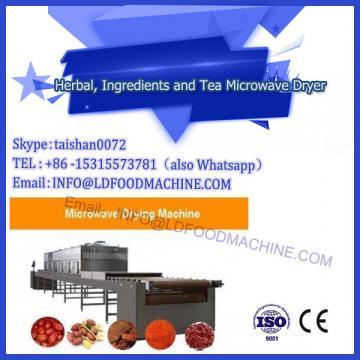 20t/h tea leaf drying microwave machine in Korea