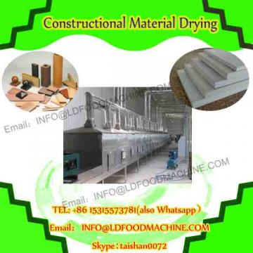 Industrial tunnel continuous microwave heating drying oven machine for battery material