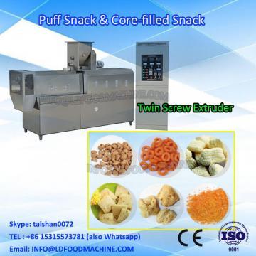 Corn Puff Snacks machinery/Stainless Steel Core Filling Snack make machinery