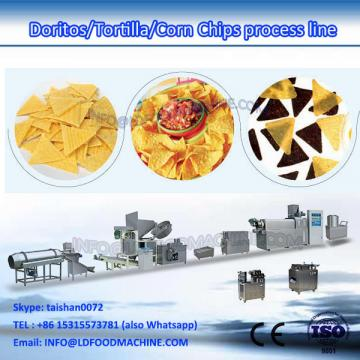 Automatic fried extruded corn chips snack pellets make machinery