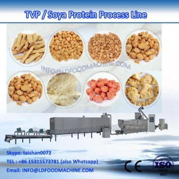 Textured vegetarian soy protein double-screw extruder machinery process line