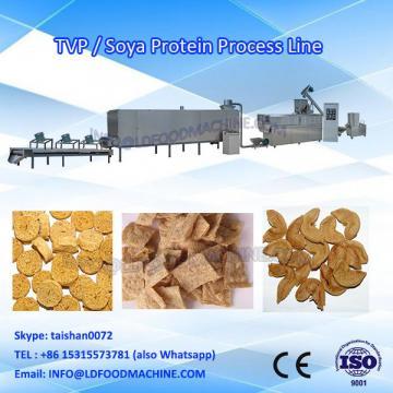 Textured vegetarian/ soybean protein/ soya nuggets food make machinery
