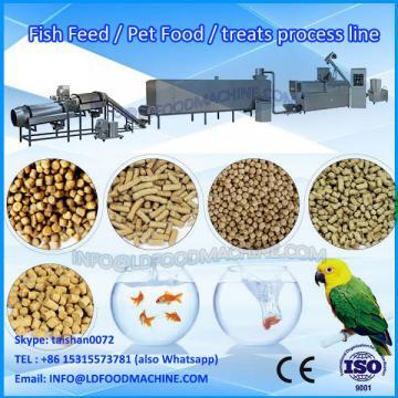 BV certification double screw pet food machine/extruded kibble pet dog food
