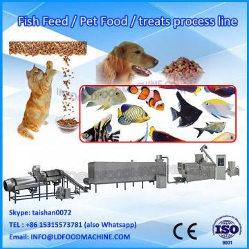 Puffing Big Capacity Fish Feed Processing Line/Automatic Chunk Dog Pet Strip Food Machine