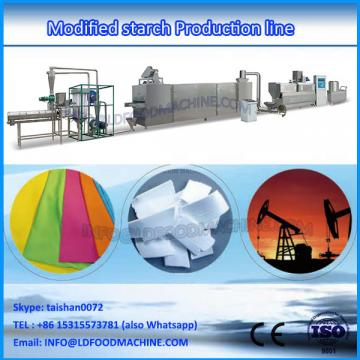 Pregelatinized starch extruder
