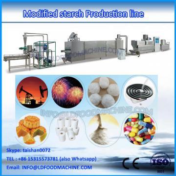 Denatured starch extruder machine