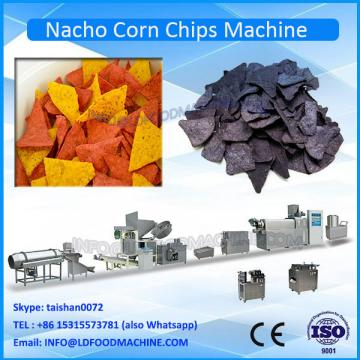 Extruded fried corn tortilla snacks food machinery