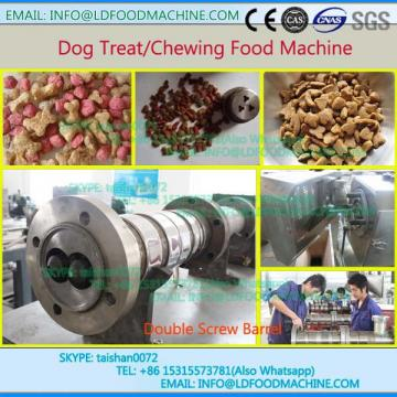 twin screw pet dog food make manufacture equipment