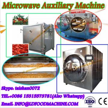 Industrial and continuous tunnel microwave drying machine