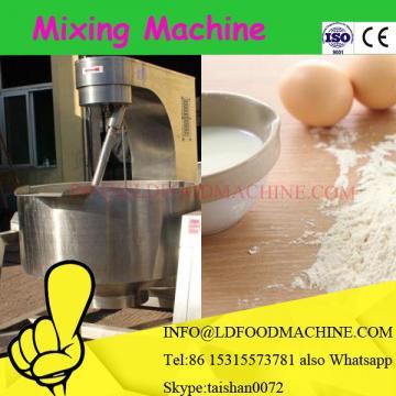 Plastic material mixer