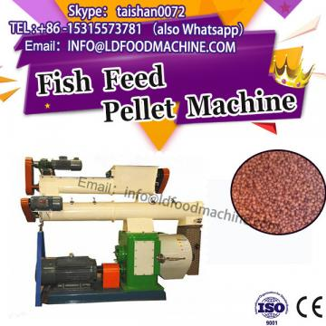 simple operation braided fishing line/fish feed machinery production line