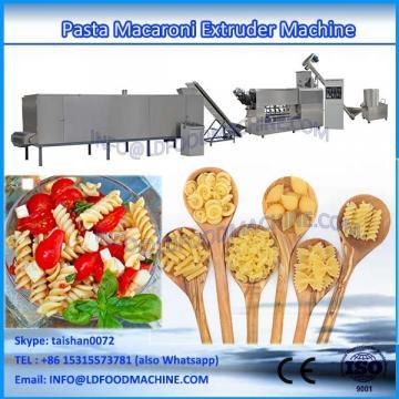 New condition single extruder fried pasta macaroni food make machinery
