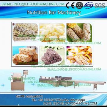 Healthy Snack Chocolate Nut Cereal Enerable Bar make machinery / Cereal bar make machinery