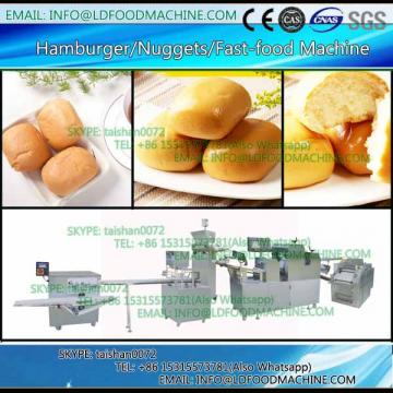 textured soya protein nuggets double screw extruder make machinery
