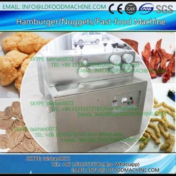 Soya bean nuggets make machinery