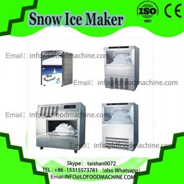 Vertical soft ice cream sandwich maker with air pump