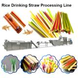 Eco Friendly Drinking Straws Biodegradable / Rice Straw Making Machine Drinking