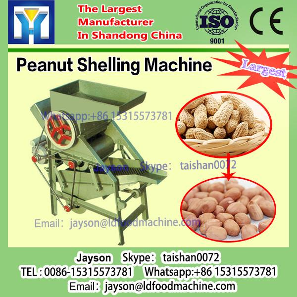 High Shell Rate Groundnut ShucLD Peanut Shelling machinery 500kg / h #1 image