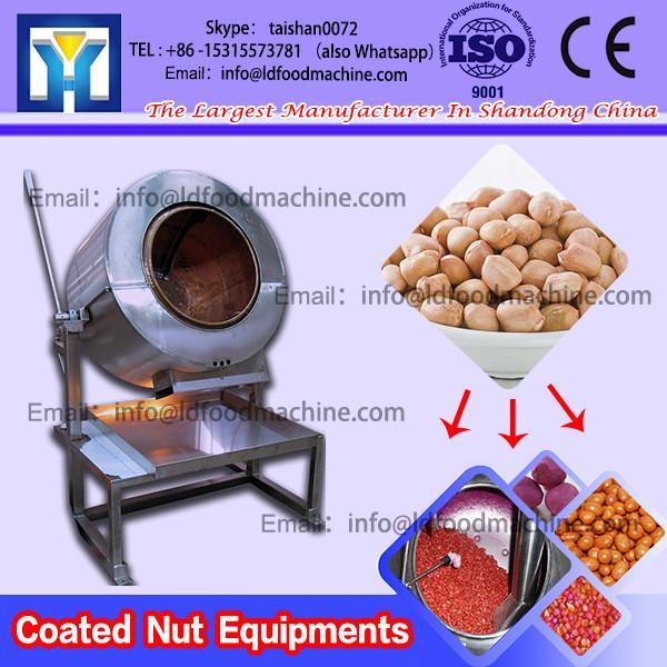 Preformed granulated snacks peanuts coated make machinery #1 image