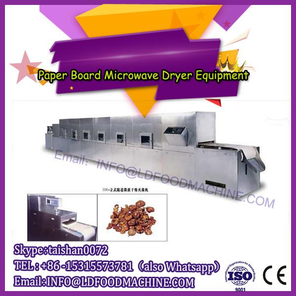 Continuous tunnel type microwave egg tray dehydration machine #1 image