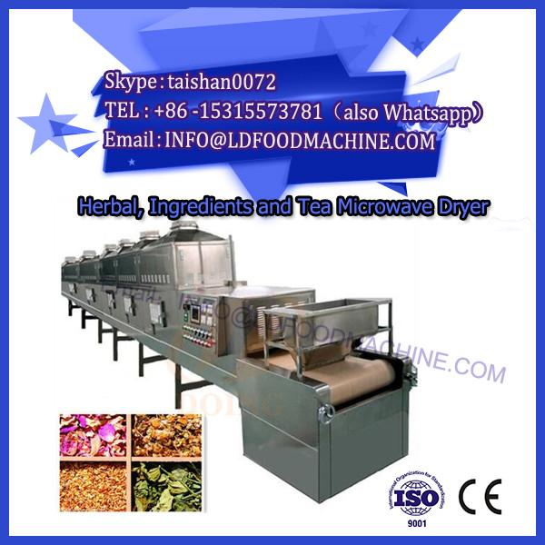 Fully automatic Microwave green tea/black tea drying and sterilizing machine #1 image