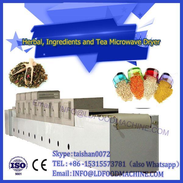 Energy saving tea freeze dryer   tea microwave dehydrator for sale #1 image