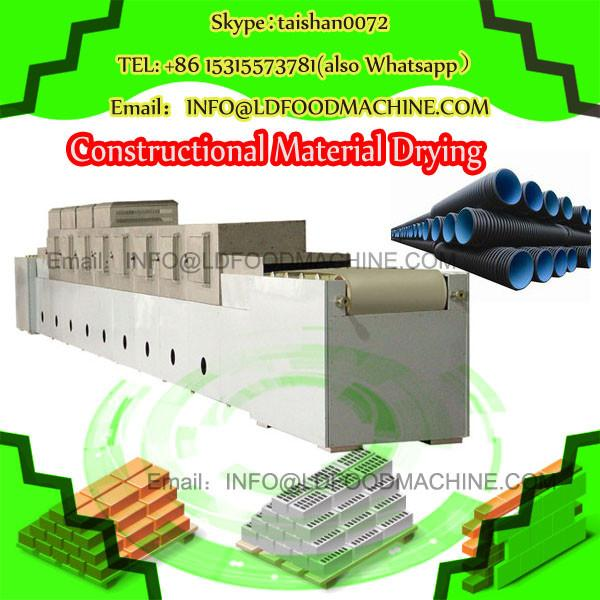 CE approved Yam microwave drying equipment #1 image