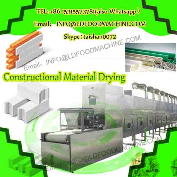 3-100kW dehydrator continuous microwave conveyor dryer for ceramics, chemical raw materials, graphite, insulation cotton, wood #1 image