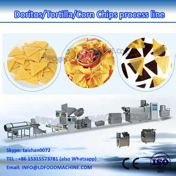 100-200kg/h triangle corn chips processing line #1 image