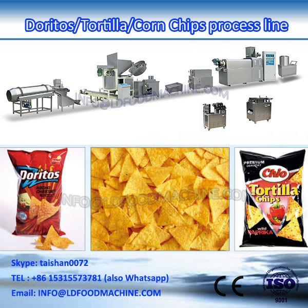 single screw extruder fried pellet  machinery #1 image