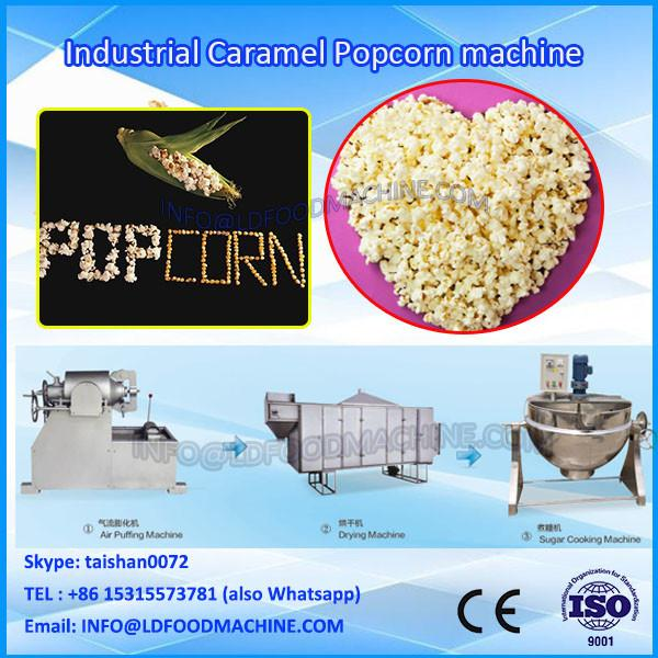 Hot Air Industrial Caramel Popcorn machinery from LD #1 image