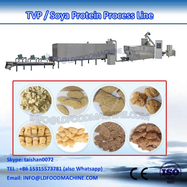 Automatic TVP/TLD Soya bean protein Chunks Nuggets machinery/processing line #1 image