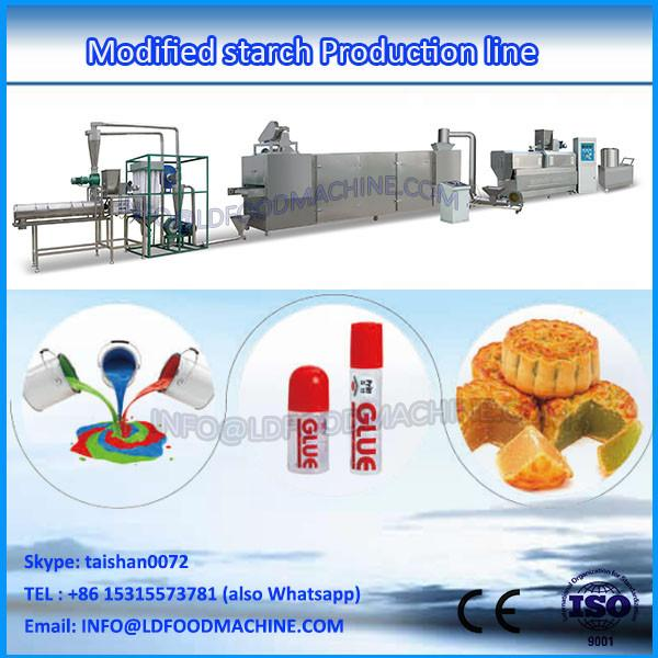 continuous automatic modified starch extrusion line/machine #1 image