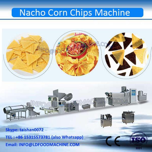 Puffed Automatic triangle shape Corn Chips make machinery #1 image