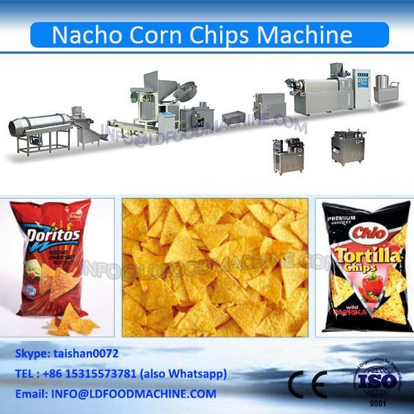 Factory Supply Fried Corn Chips make machinery #1 image