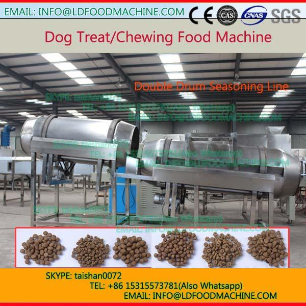One ton per hour twin screw extruder for pet food #1 image
