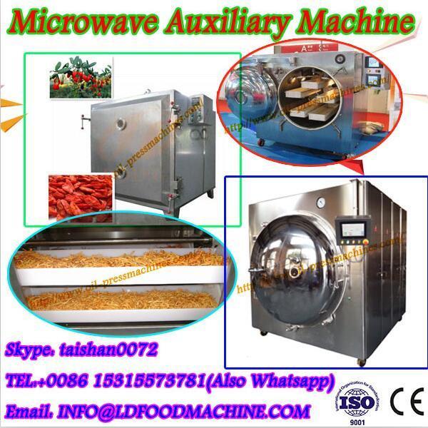 Rosebud Microwave Vacuum Dryer/conveyor mesh belt dryer #1 image