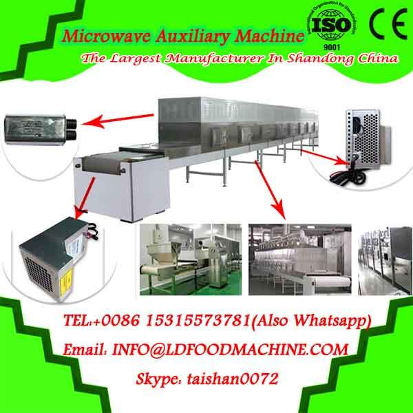 Tunnel continuous microwave conveyor machine for drying and sterilizing wheat germ #1 image
