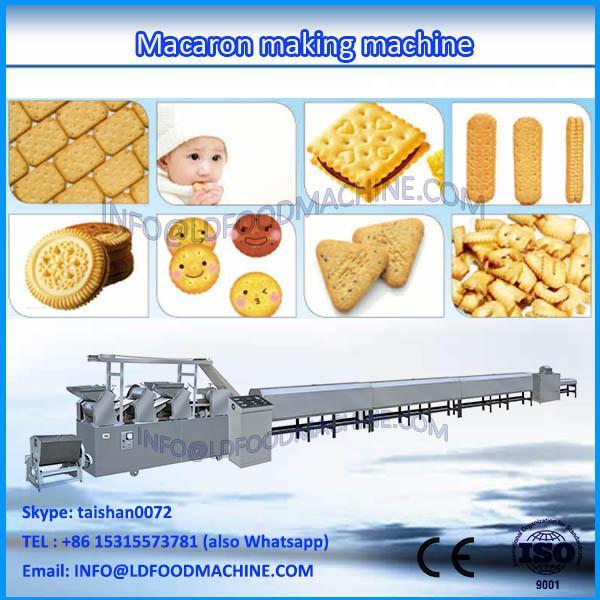 New macaron make machinery ,macaroni production line ,small cookie machinery #1 image