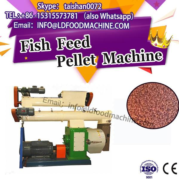 Good fashion syle fish pellet extruder/small feed pellet mill manufacturer #1 image