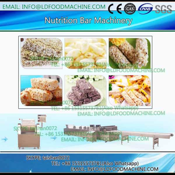 multinational oat chocolate cereal fruits nuts candy bar moulding production line #1 image