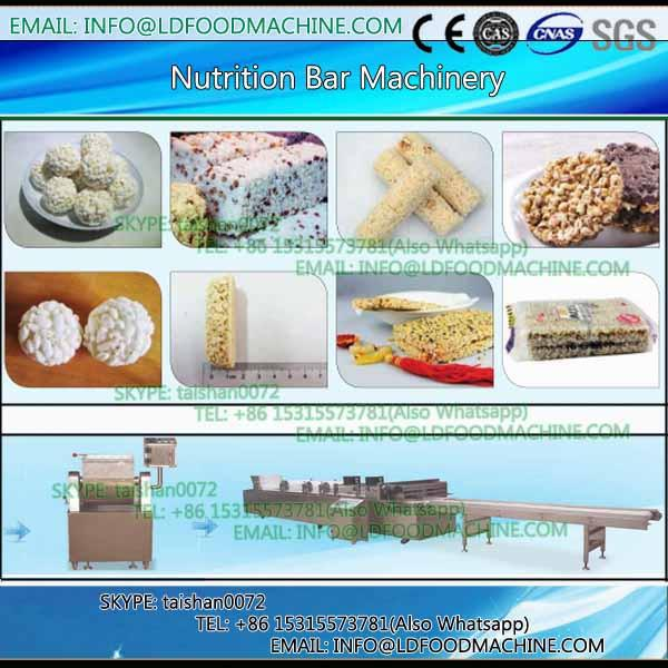 Oatmeal chocolate cereal bar moulding formiing machinery #1 image