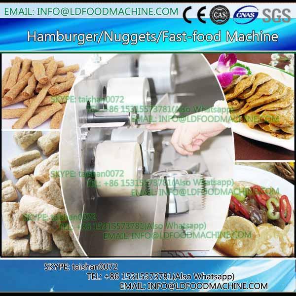 Beef Pork Meat Rice Potato Vegetarian Hamburger Patty machinery #1 image