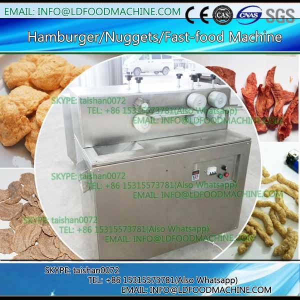 Textured Soya Meat Nuggets Protein Food Extruder #1 image