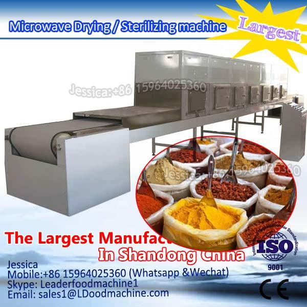 Malt drying and curing  Microwave Drying / Sterilizing machine #1 image