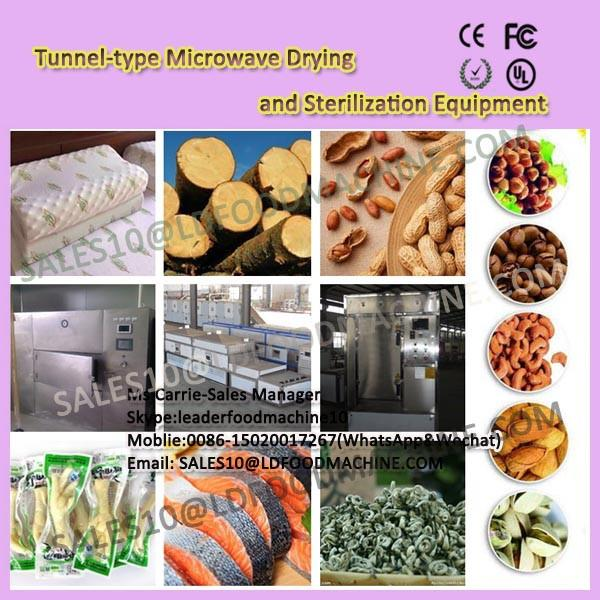 Tunnel-type Green tea Microwave Drying and Sterilization Equipment #1 image